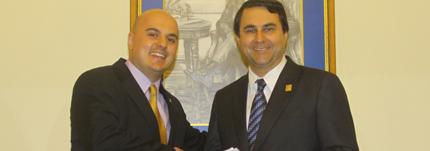 Entrevista con el presidente de la República del Paraguay