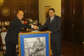 Entrevista con el Presidente de la República del Paraguay Dr. Federico Franco Gómez