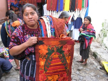 chichicastenango indian woman