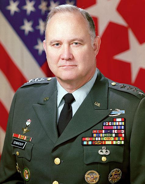 Norman Schwarzkopf, la pérdida del General de la Guerra del Golfo (1991)