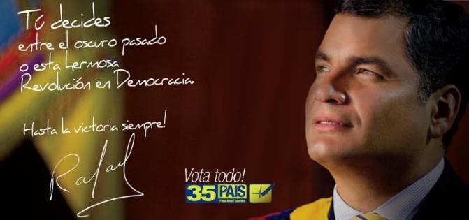 Ecuadorean President begins his third term in office