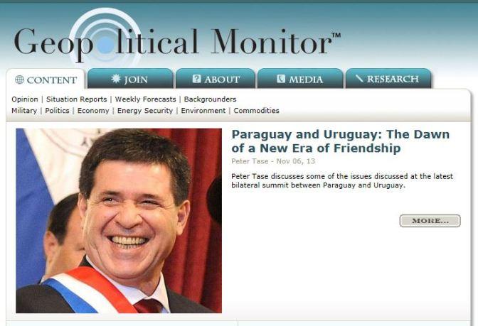 Horacio Cartes, Geopolitical Monitor, Copy 2